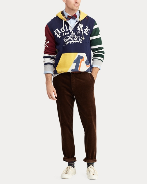575bf6710 Polo Ralph Lauren Patchwork Rugby Hoodie 3