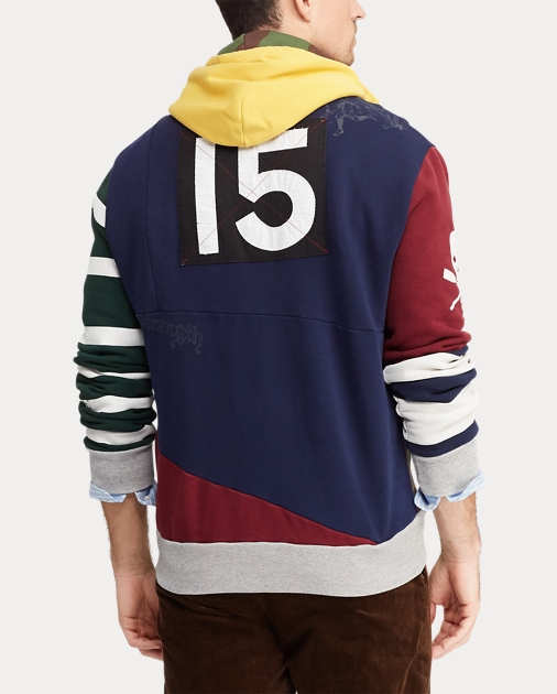 28e0874d4 Polo Ralph Lauren Patchwork Rugby Hoodie 5