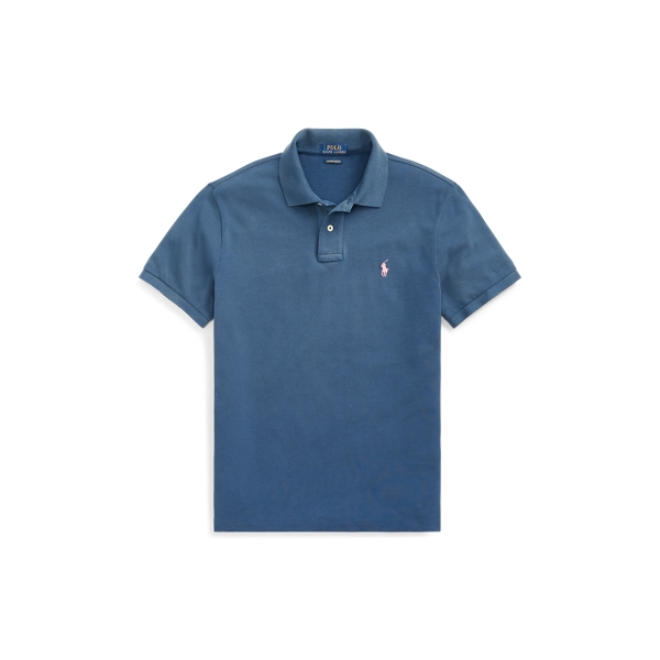 Polo Ralph Lauren Pink Pony Custom Slim Fit Polo Shirt