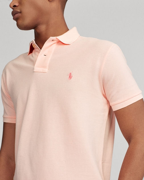 0bc8384d9f Pink Pony Custom Slim Polo