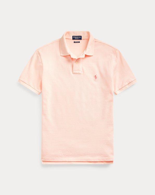 Pink Pony Custom Slim Fit Polo Shirt