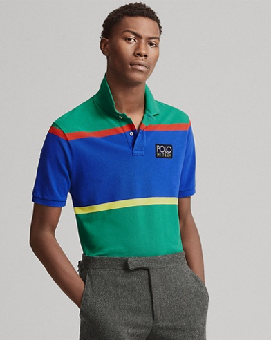Hi Tech Classic Fit Mesh Polo