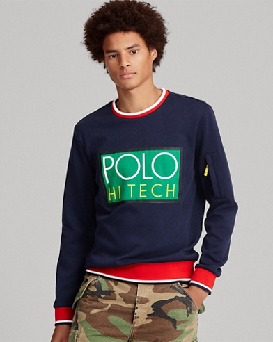 Hi Tech Double-Knit Sweatshirt