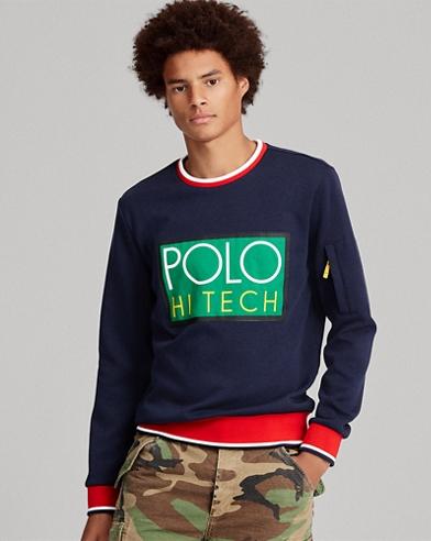 Hi Tech Double-Knit Sweatshirt