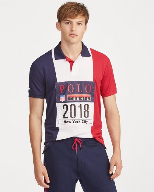 e7c528ded0b Polo Ralph Lauren US Open Piqué Polo Shirt 1