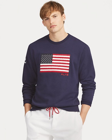 US Open Flag Fleece Sweatshirt
