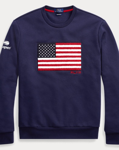 US Open Flag Fleece Sweatshirt