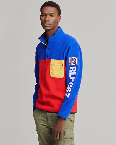 Hi Tech Color-Blocked Pullover