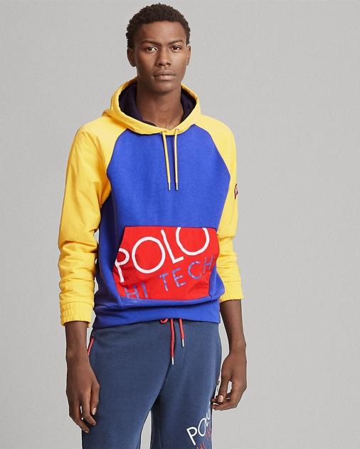 a25b58d7f Polo Ralph Lauren Hi Tech Hybrid Hoodie 1