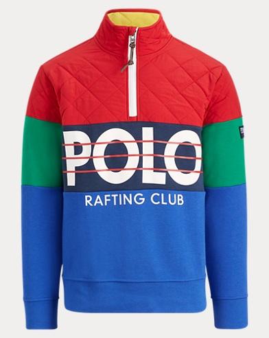 6f66a85d Hi Tech Hybrid Pullover. Polo Ralph Lauren