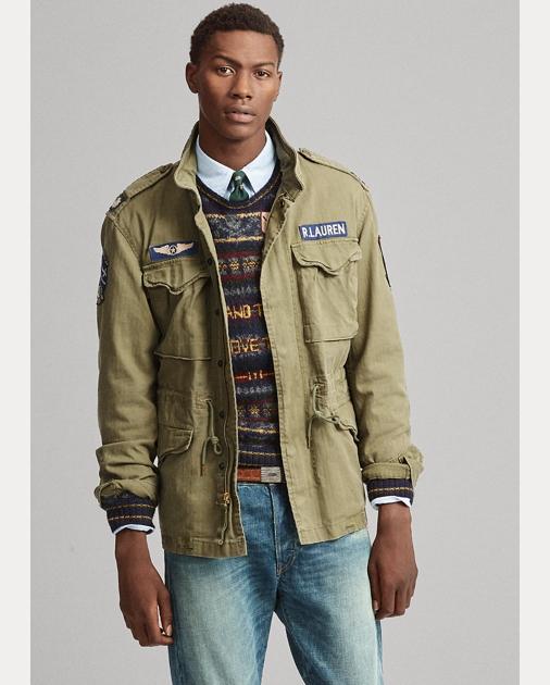 Cotton Twill Field Jacket