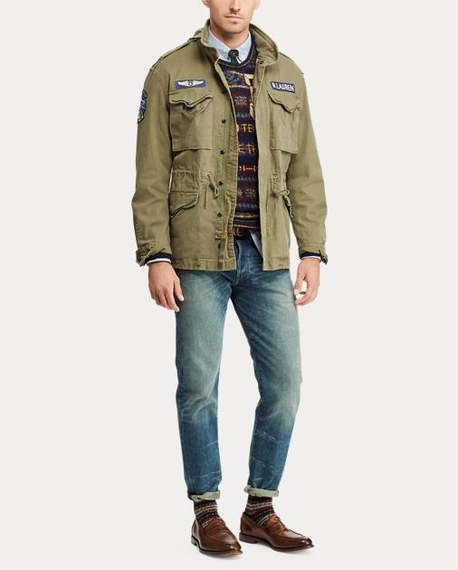 Cotton Jacket Jacket Field Field Twill Field Cotton Cotton Twill Jacket Twill OP80NwkXn