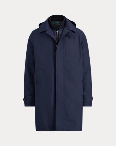 Polo Ralph Lauren. Polo Wool-Bend-Melton Peacoat. $595.00. 3-in-1 Commuter  Coat. color ...