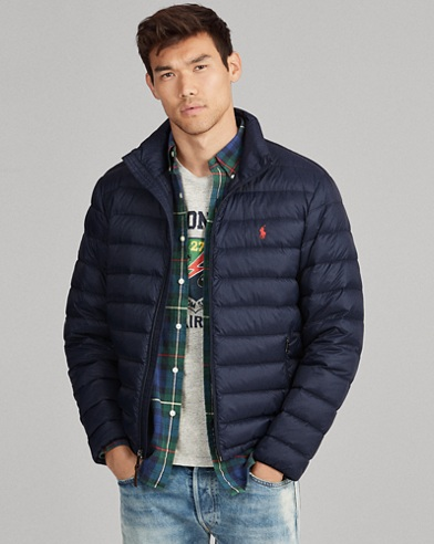 Packable Quilted Down Coat