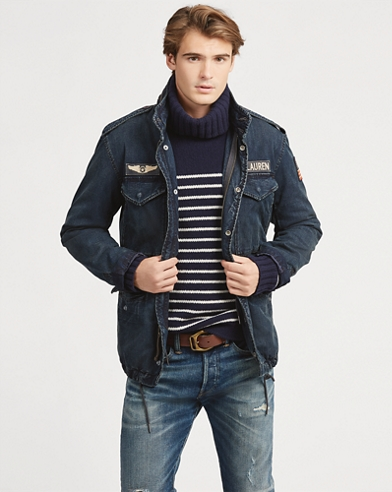 Denim Field Jacket