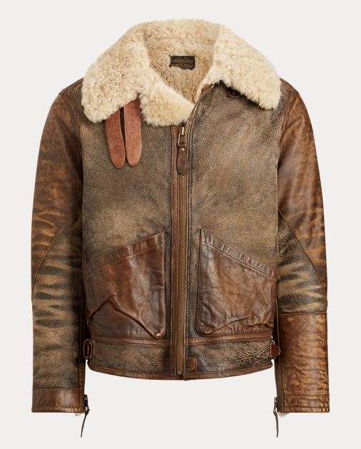 2f23a83d Polo Ralph Lauren Shearling Bomber Jacket 2