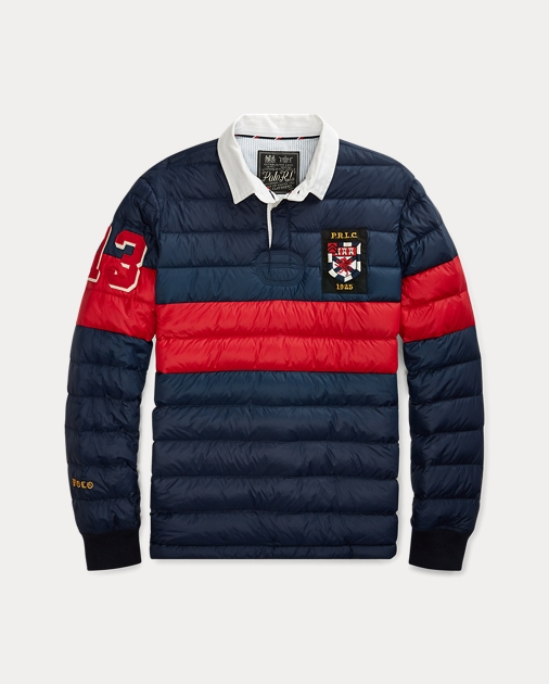 d31fabb4d Polo Ralph Lauren Quilted Down Rugby Pullover 1
