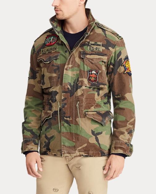 Polo Ralph Lauren Camo Field Jacket 4 53a93bd3852