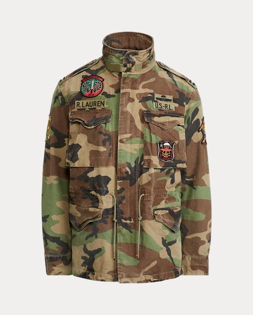 Polo Ralph Lauren Camo Field Jacket 2 39ec61a1db7