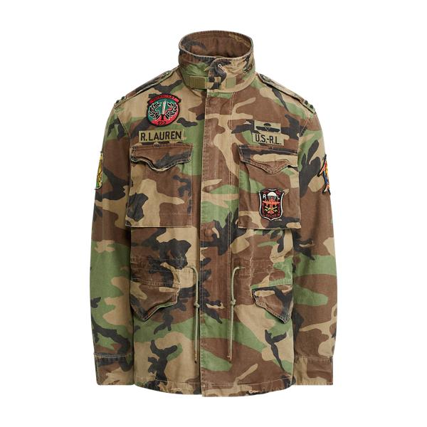 Ralph Lauren Camo Field Jacket Surplus Camo S