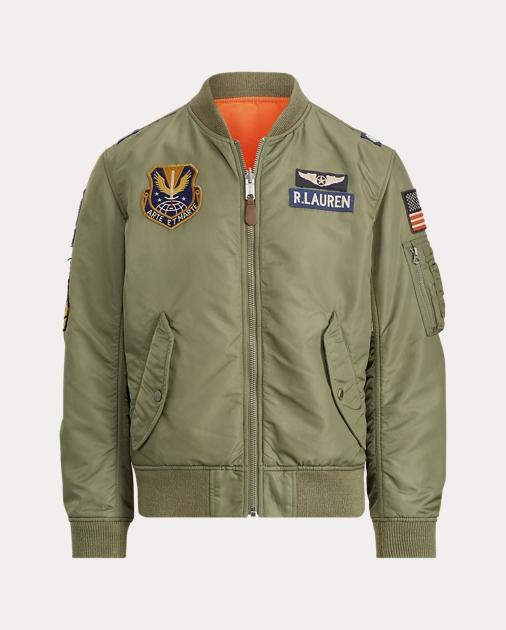 81e4351c Reversible Bomber Jacket
