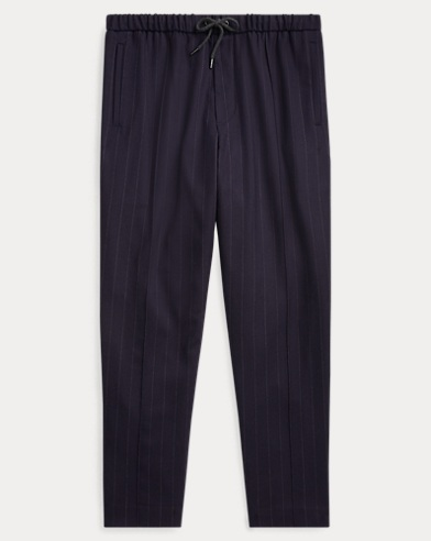 Relaxed Fit Stretch Wool Pant