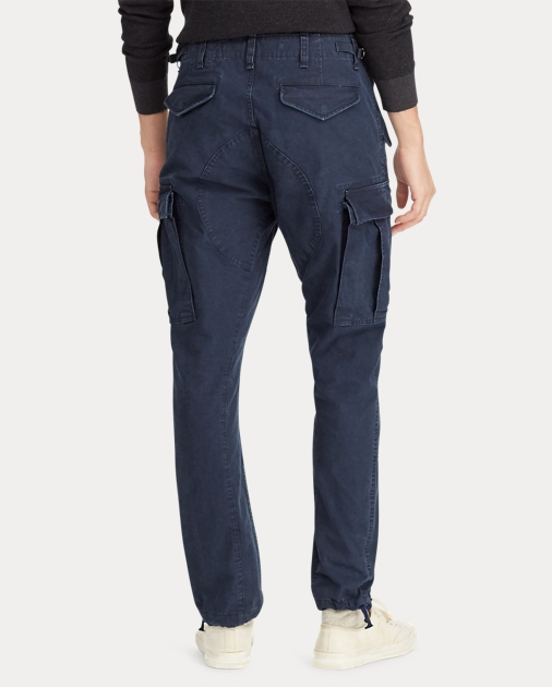 complete in specifications 2019 wholesale price various colors Slim Fit Canvas Cargo Pant