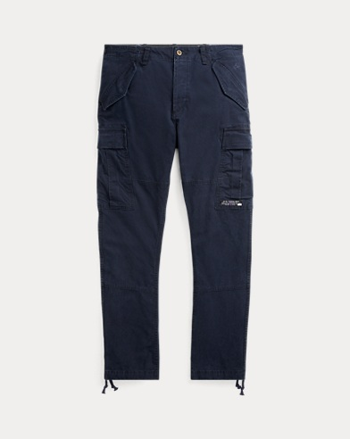 Slim Fit Canvas Cargo Pant
