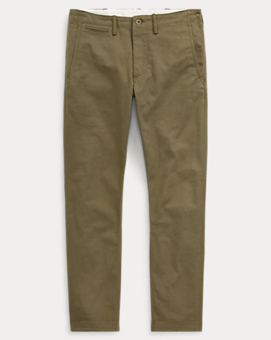 Tapered Fit Selvedge Chino