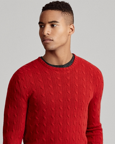 Cable-knitted CashmereJumper