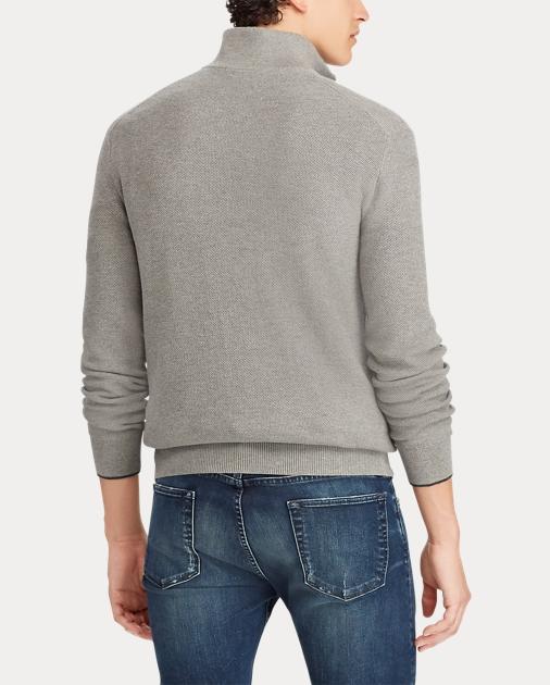 Cotton Zip Cotton Half Sweater Half Zip XZPuTOik