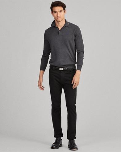 Cotton Polo Sweater