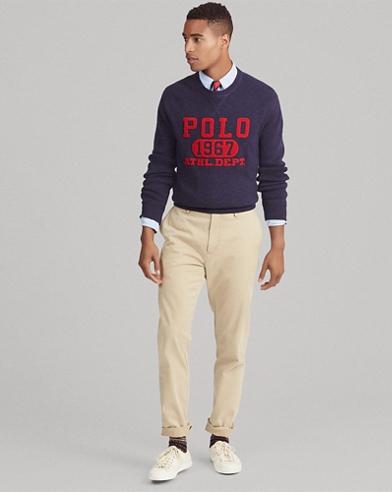 Cotton Graphic Sweater