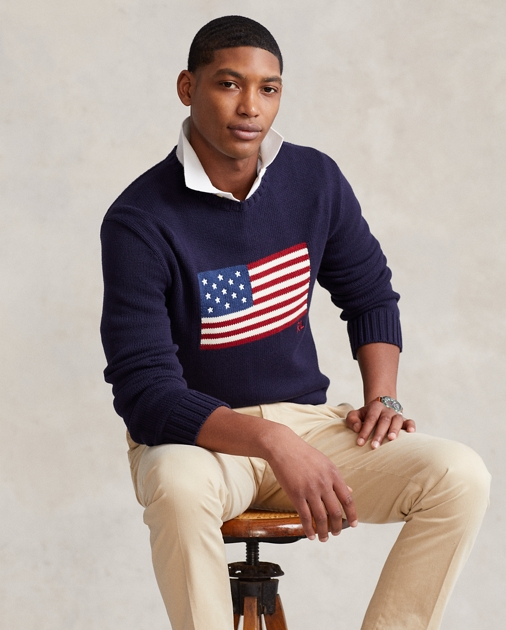 Polo Ralph Lauren The Iconic Flag Jumper 1