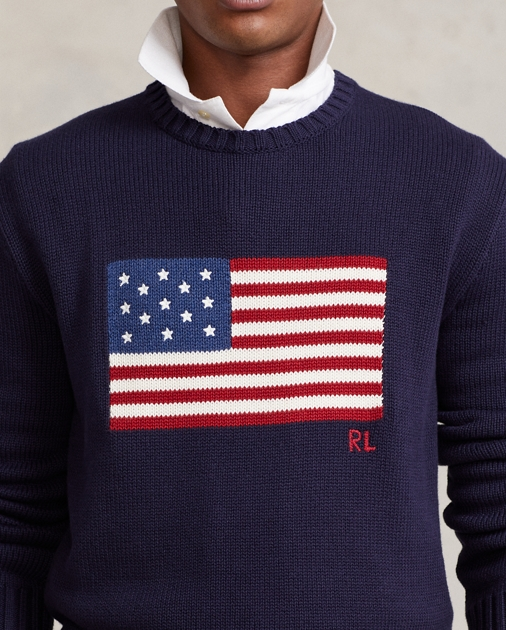 Polo Ralph Lauren The Iconic Flag Jumper 6