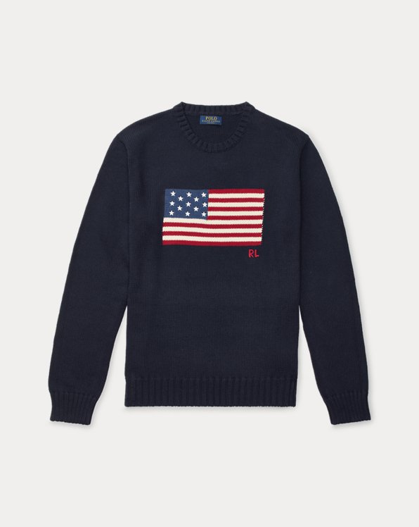 Le pull à drapeau emblématique