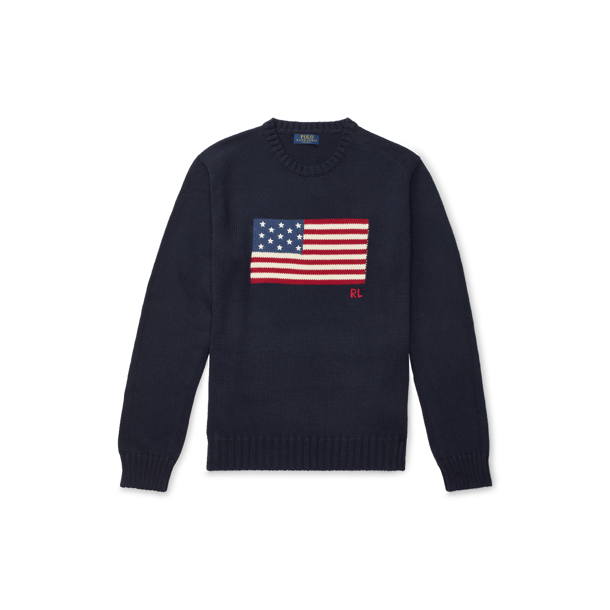 60d5f7e2070b The Iconic Flag Sweater