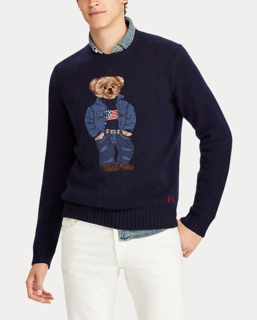 sale retailer 676bf 0a0e1 Denim Bear Wool Sweater