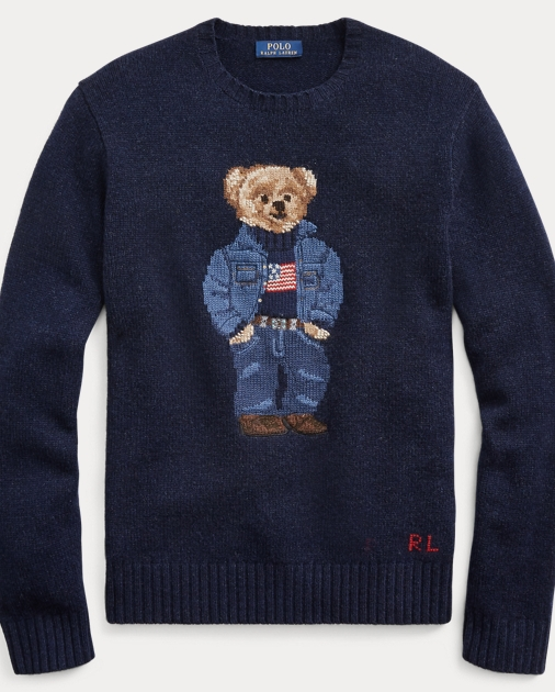 sale retailer ff178 f1a09 Denim Bear Wool Sweater