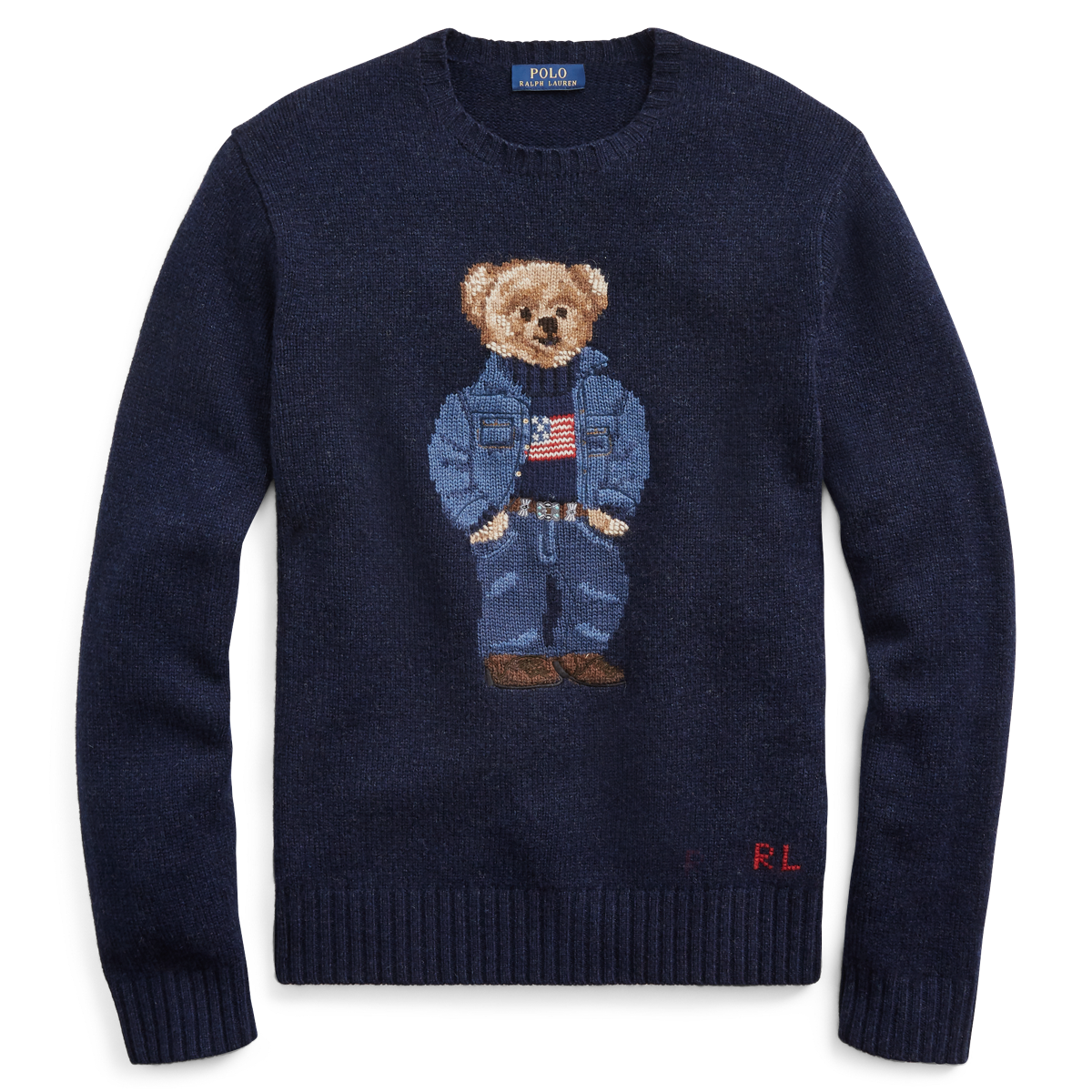a32dbe840 Polo Bear Wool Sweater