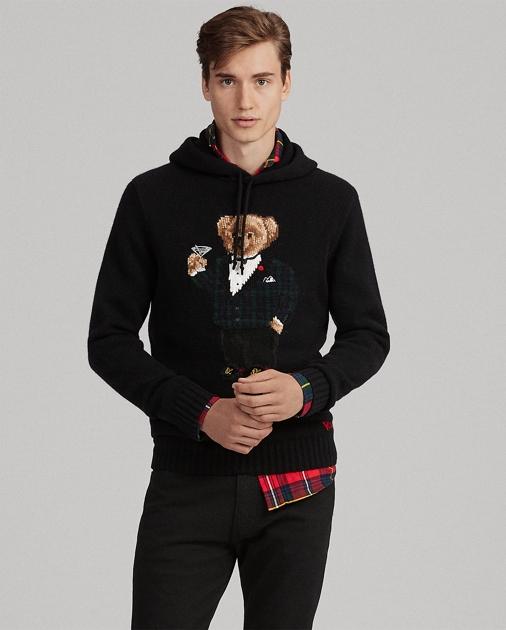 5e5fd50a Martini Bear Hooded Sweater