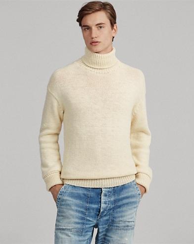 Wool Turtleneck Jumper