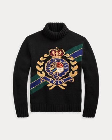 Crest Wool Turtleneck Sweater