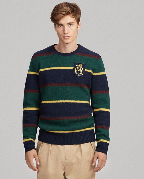 Polo Ralph Lauren Striped Merino Wool Sweater