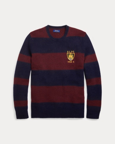 Striped Merino Wool Sweater. Exclusive. Polo Ralph Lauren
