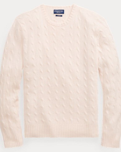 Pink Pony Cashmere Sweater