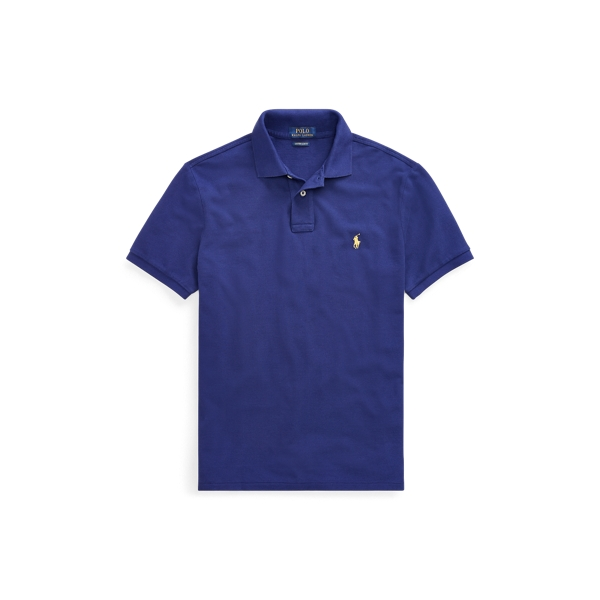 Ralph Lauren Classic Fit Mesh Polo Shirt Fall Royal 1X Big