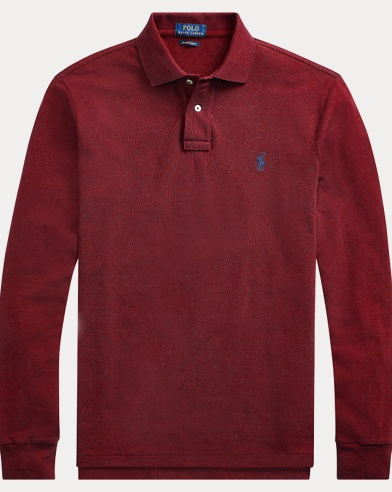 Classic Fit Long-Sleeve Polo