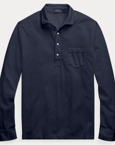 Classic Fit Mesh Shirt