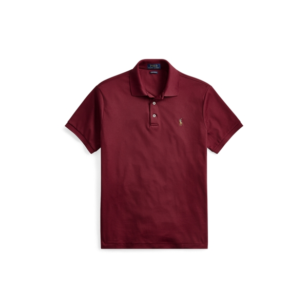 Ralph Lauren Classic Fit Soft-Touch Polo Classic Wine 1X Big